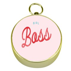 Girl Boss Pink Red Blue Sexy Gold Compasses by Mariart
