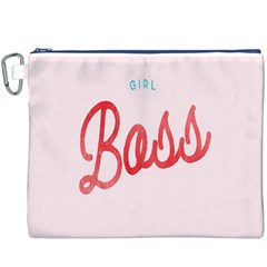 Girl Boss Pink Red Blue Sexy Canvas Cosmetic Bag (xxxl) by Mariart