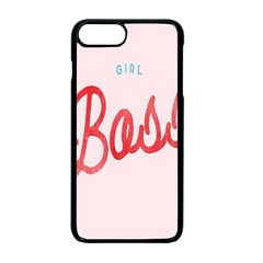 Girl Boss Pink Red Blue Sexy Apple Iphone 7 Plus Seamless Case (black) by Mariart
