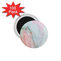 Geode Crystal Pink Blue 1 75  Magnets (100 Pack)  by Mariart