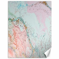 Geode Crystal Pink Blue Canvas 36  X 48   by Mariart