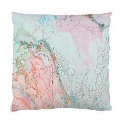 Geode Crystal Pink Blue Standard Cushion Case (two Sides) by Mariart