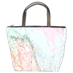 Geode Crystal Pink Blue Bucket Bags by Mariart