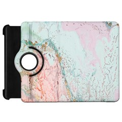 Geode Crystal Pink Blue Kindle Fire Hd 7  by Mariart