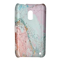 Geode Crystal Pink Blue Nokia Lumia 620 by Mariart