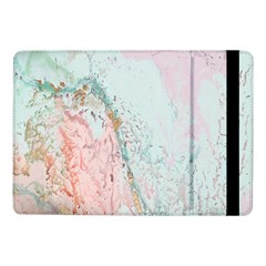 Geode Crystal Pink Blue Samsung Galaxy Tab Pro 10 1  Flip Case by Mariart