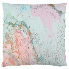 Geode Crystal Pink Blue Standard Flano Cushion Case (Two Sides) by Mariart