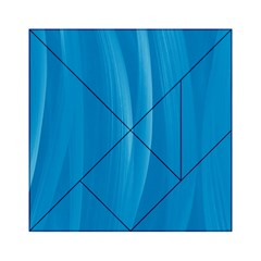 Abstraction Acrylic Tangram Puzzle (6  X 6 ) by Valentinaart