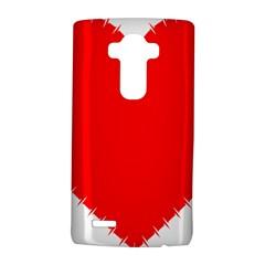 Heart Rhythm Inner Red Lg G4 Hardshell Case