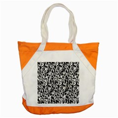 Deskjet Ink Splatter Black Spot Accent Tote Bag by Mariart