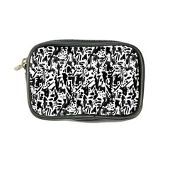 Deskjet Ink Splatter Black Spot Coin Purse by Mariart