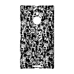 Deskjet Ink Splatter Black Spot Nokia Lumia 1520 by Mariart