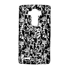 Deskjet Ink Splatter Black Spot Lg G4 Hardshell Case by Mariart