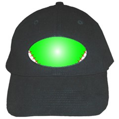 Heart Rhythm Inner Green Red Black Cap by Mariart