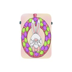 Make An Easter Egg Wreath Rabbit Face Cute Pink White Apple Ipad Mini Protective Soft Cases by Mariart
