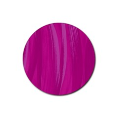 Abstraction Rubber Round Coaster (4 Pack)  by Valentinaart