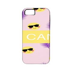 I Can Purple Face Smile Mask Tree Yellow Apple Iphone 5 Classic Hardshell Case (pc+silicone) by Mariart