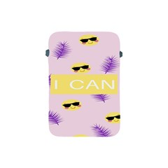 I Can Purple Face Smile Mask Tree Yellow Apple Ipad Mini Protective Soft Cases by Mariart
