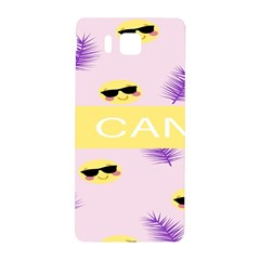 I Can Purple Face Smile Mask Tree Yellow Samsung Galaxy Alpha Hardshell Back Case by Mariart