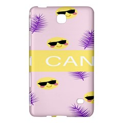 I Can Purple Face Smile Mask Tree Yellow Samsung Galaxy Tab 4 (7 ) Hardshell Case
