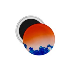 Simulate Weather Fronts Smoke Blue Orange 1 75  Magnets by Mariart