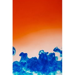 Simulate Weather Fronts Smoke Blue Orange 5 5  X 8 5  Notebooks by Mariart