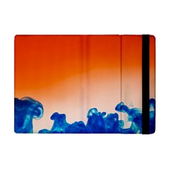 Simulate Weather Fronts Smoke Blue Orange Apple Ipad Mini Flip Case by Mariart