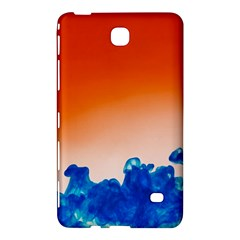 Simulate Weather Fronts Smoke Blue Orange Samsung Galaxy Tab 4 (8 ) Hardshell Case  by Mariart