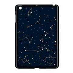 Star Zodiak Space Circle Sky Line Light Blue Yellow Apple Ipad Mini Case (black) by Mariart
