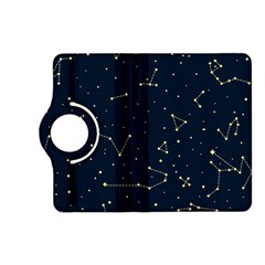 Star Zodiak Space Circle Sky Line Light Blue Yellow Kindle Fire Hd (2013) Flip 360 Case by Mariart