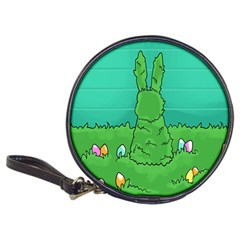 Rabbit Easter Green Blue Egg Classic 20 Cd Wallets by Mariart