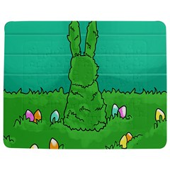 Rabbit Easter Green Blue Egg Jigsaw Puzzle Photo Stand (rectangular) by Mariart