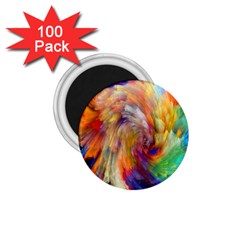 Rainbow Color Splash 1 75  Magnets (100 Pack)  by Mariart