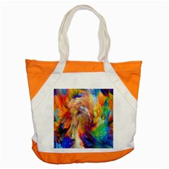 Rainbow Color Splash Accent Tote Bag by Mariart