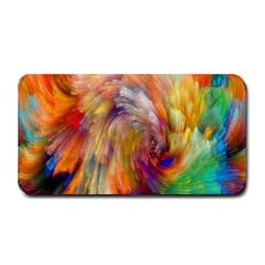 Rainbow Color Splash Medium Bar Mats by Mariart