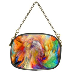 Rainbow Color Splash Chain Purses (one Side)  by Mariart