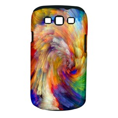 Rainbow Color Splash Samsung Galaxy S Iii Classic Hardshell Case (pc+silicone) by Mariart