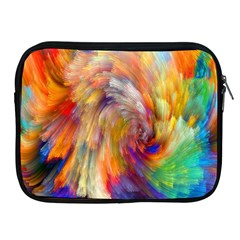 Rainbow Color Splash Apple Ipad 2/3/4 Zipper Cases by Mariart