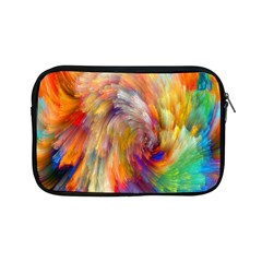 Rainbow Color Splash Apple Ipad Mini Zipper Cases by Mariart