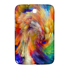 Rainbow Color Splash Samsung Galaxy Note 8 0 N5100 Hardshell Case  by Mariart