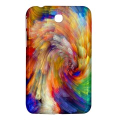 Rainbow Color Splash Samsung Galaxy Tab 3 (7 ) P3200 Hardshell Case  by Mariart