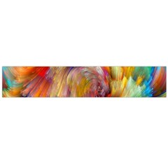 Rainbow Color Splash Flano Scarf (large) by Mariart