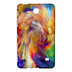 Rainbow Color Splash Samsung Galaxy Tab 4 (7 ) Hardshell Case  by Mariart