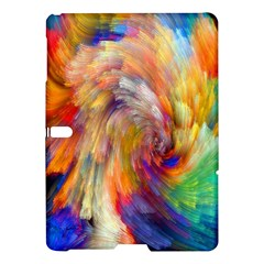 Rainbow Color Splash Samsung Galaxy Tab S (10 5 ) Hardshell Case  by Mariart