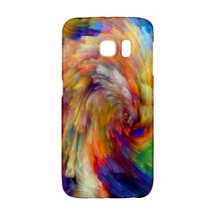 Rainbow Color Splash Galaxy S6 Edge by Mariart