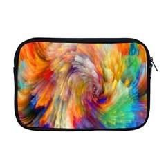 Rainbow Color Splash Apple Macbook Pro 17  Zipper Case by Mariart