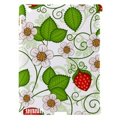 Strawberry Fruit Leaf Flower Floral Star Green Red White Apple Ipad 3/4 Hardshell Case (compatible With Smart Cover) by Mariart