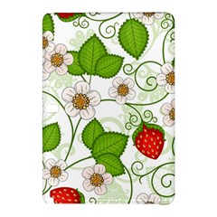 Strawberry Fruit Leaf Flower Floral Star Green Red White Samsung Galaxy Tab Pro 10 1 Hardshell Case by Mariart