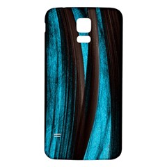 Abstraction Samsung Galaxy S5 Back Case (white) by Valentinaart