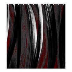 Abstraction Shower Curtain 66  X 72  (large)  by Valentinaart